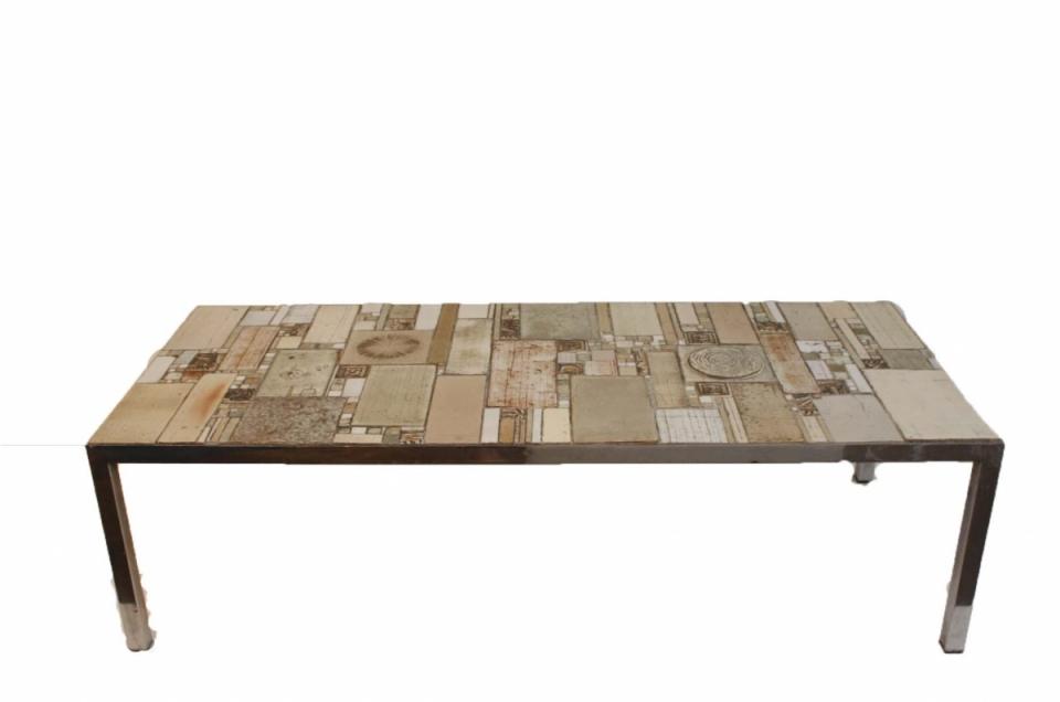 Pia Manu Tiled Table