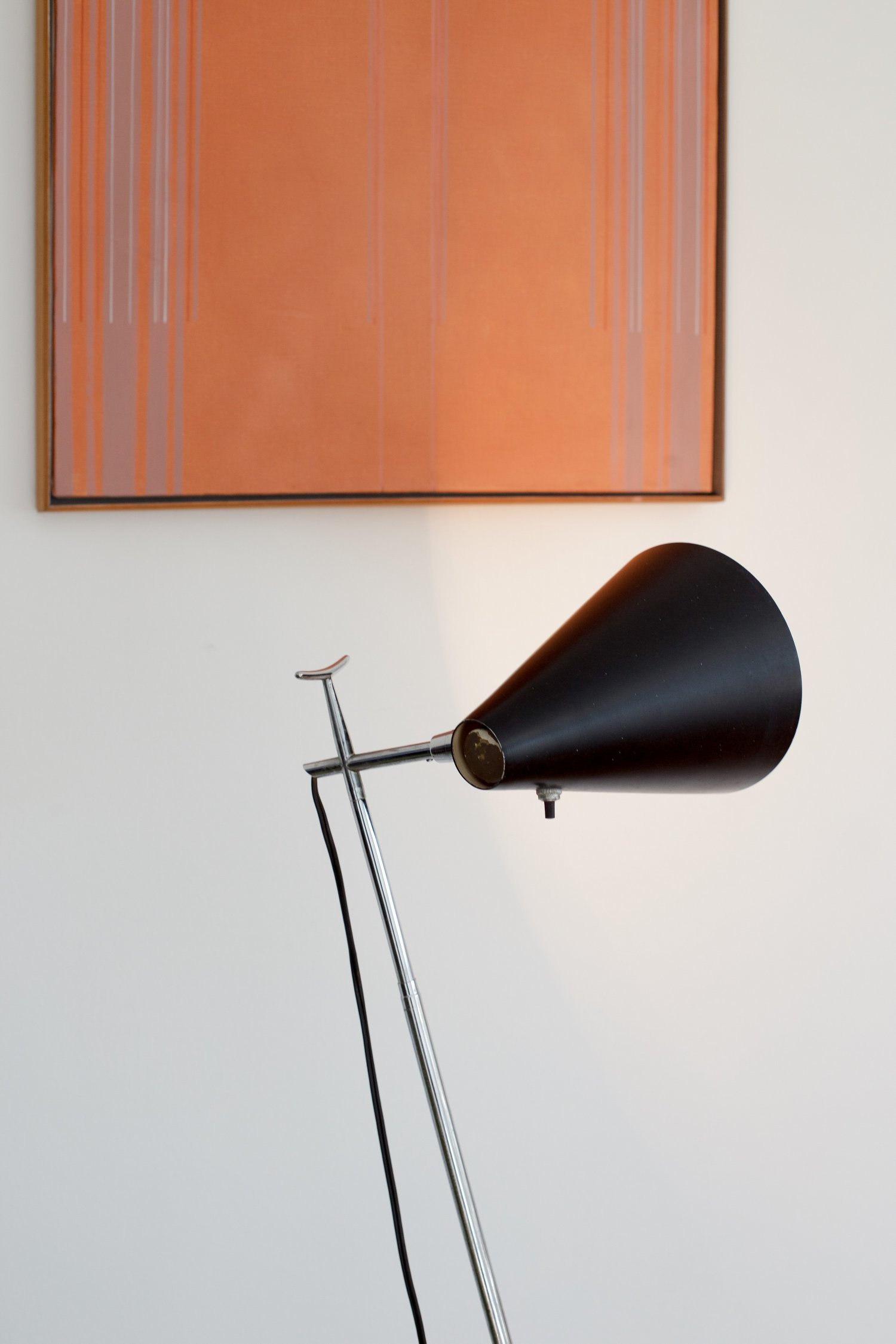Type 201 Floor / Desk lamp by Giuseppe Ostuni and Renato Forti for Oluce
