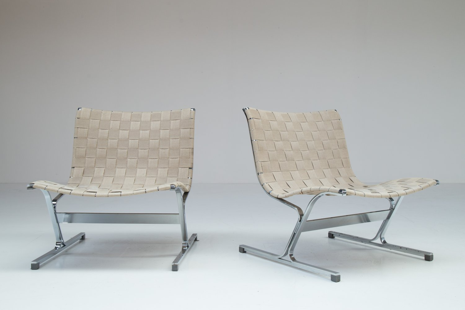 Pair of Luar chairs.