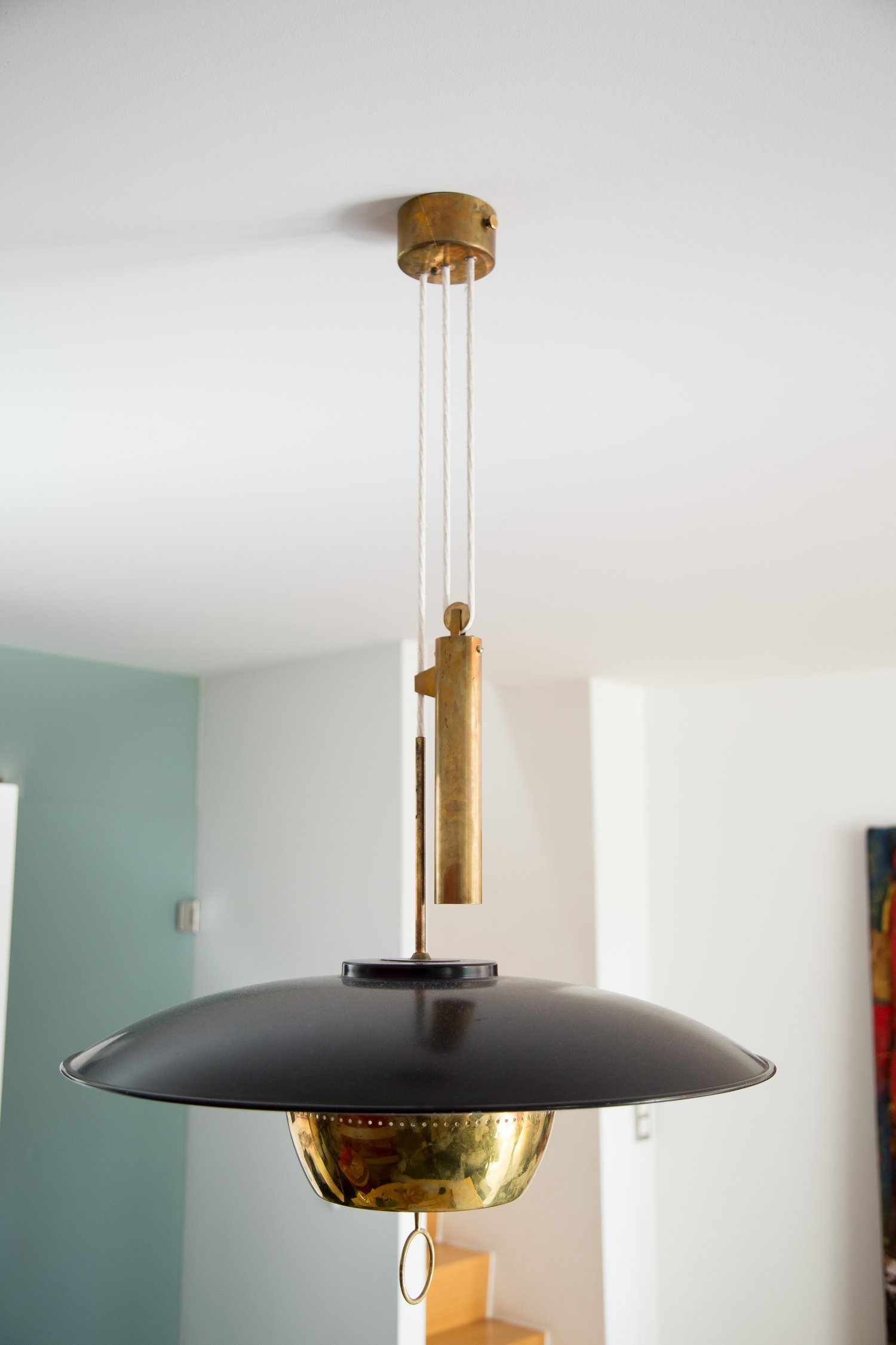 STILNOVO A5011 counterweight lamp by Gaetano Sciolari