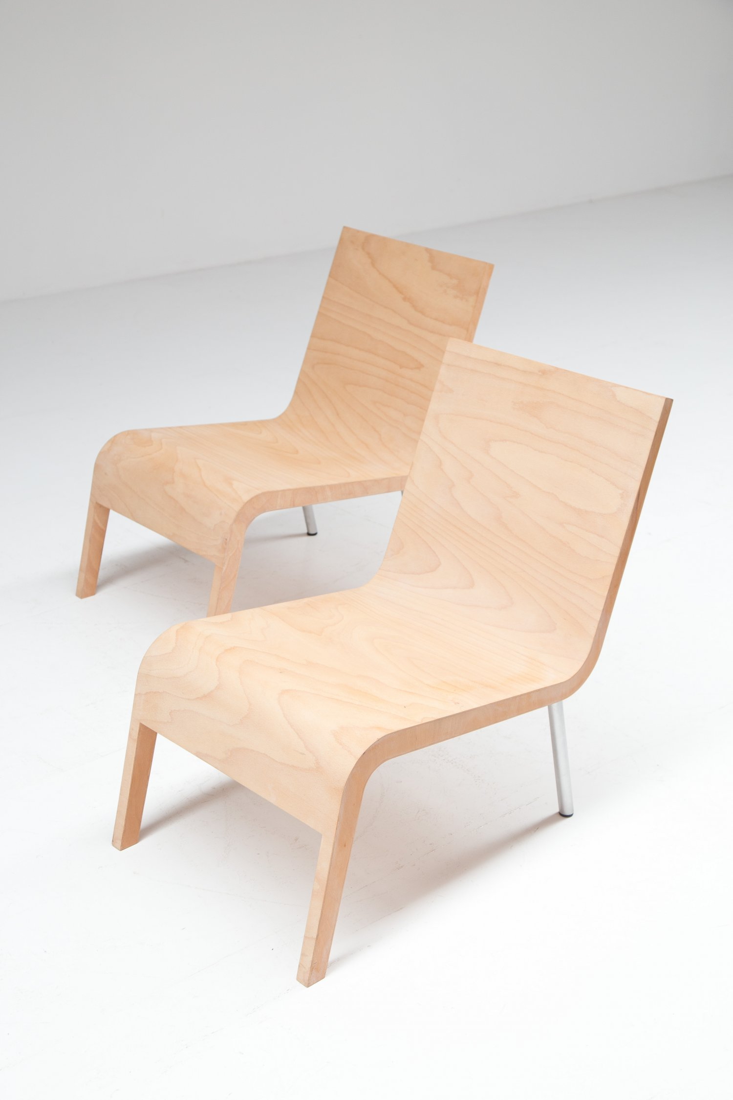 2 Maarten Van Severen Low Chairs