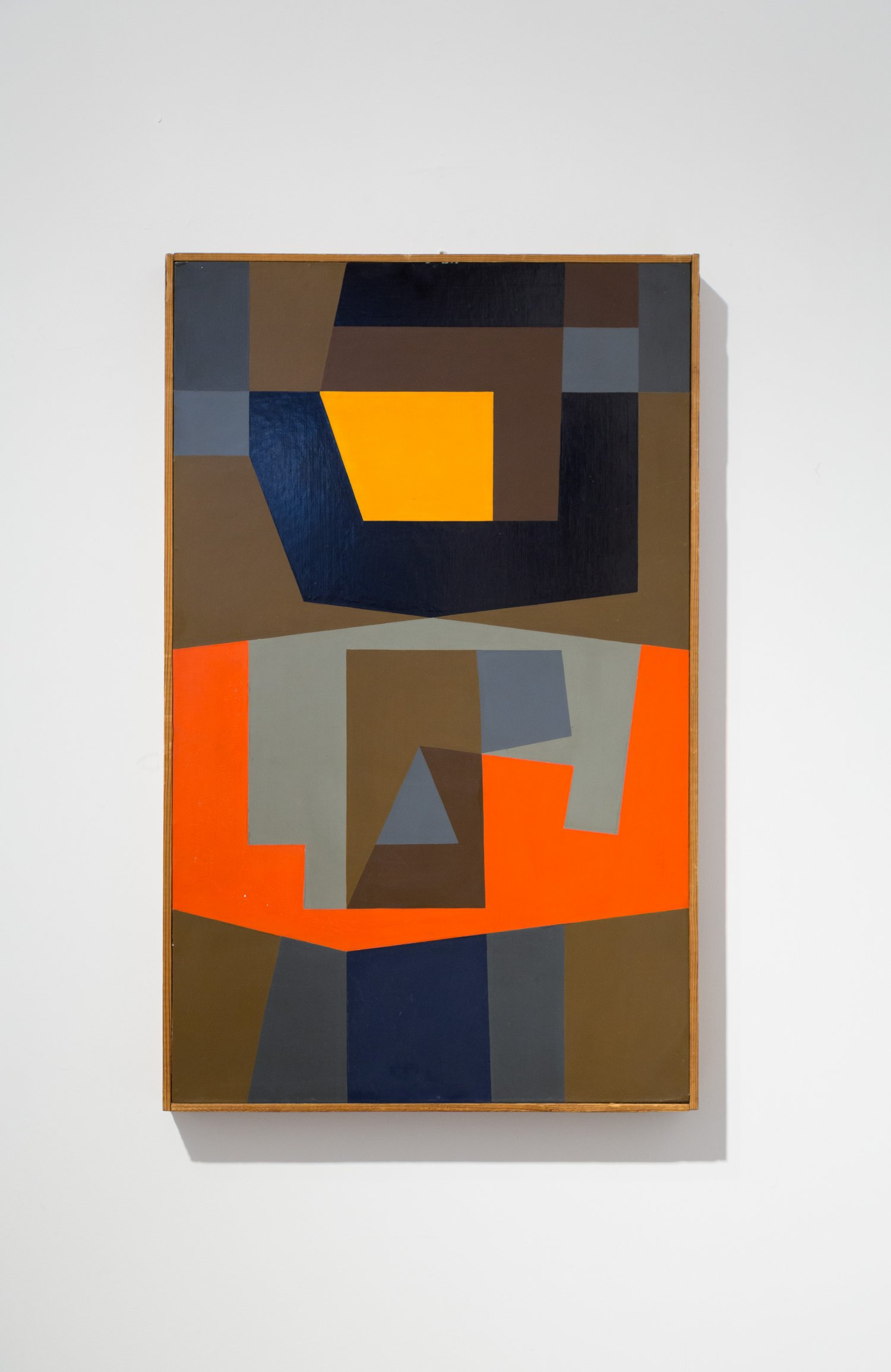 Victor Noel 1960 abstraction