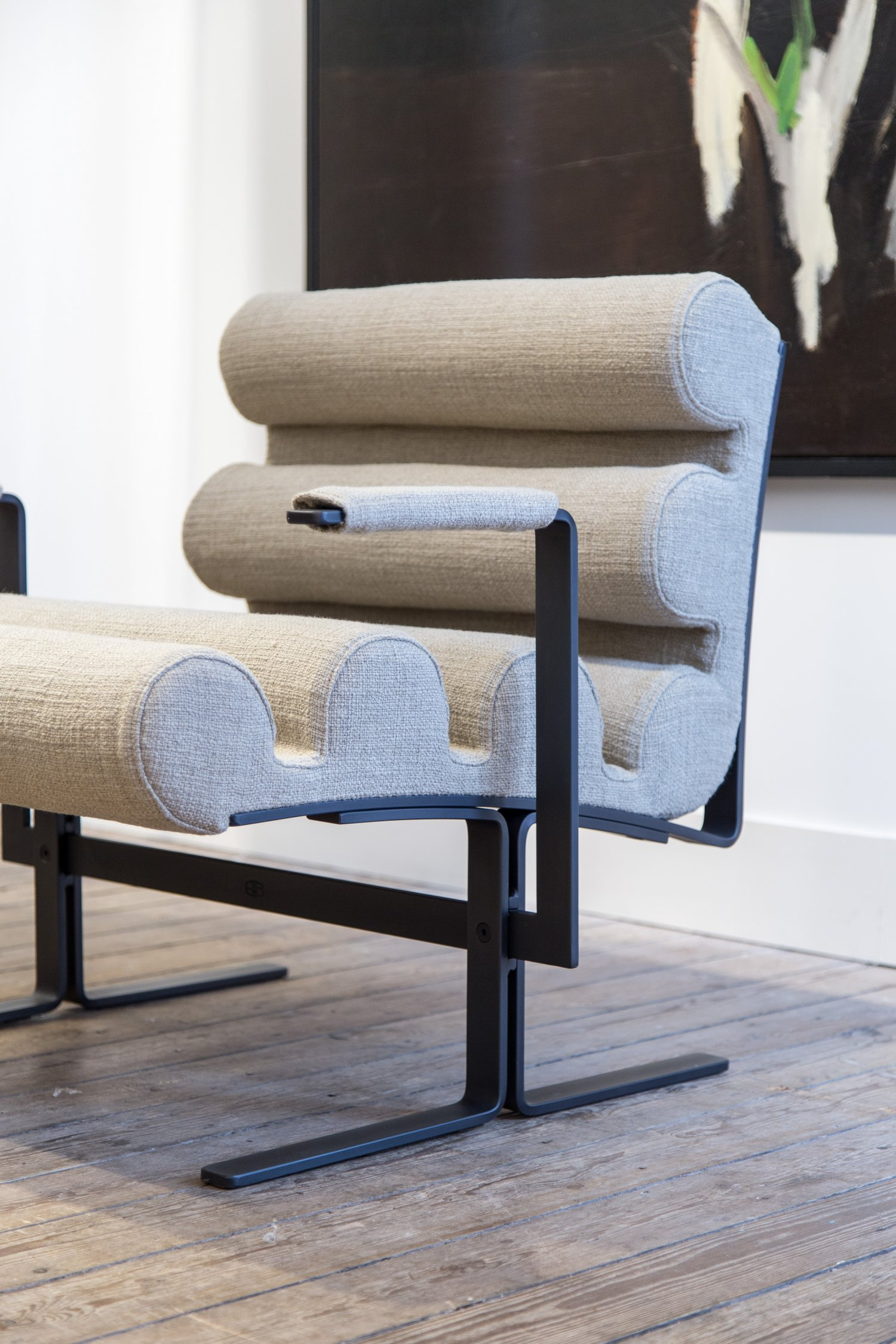 'Roll' chair by Joe Colombo for Sormani