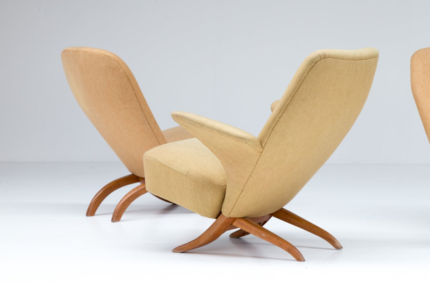 Group of Theo Ruth chairs for Artifort