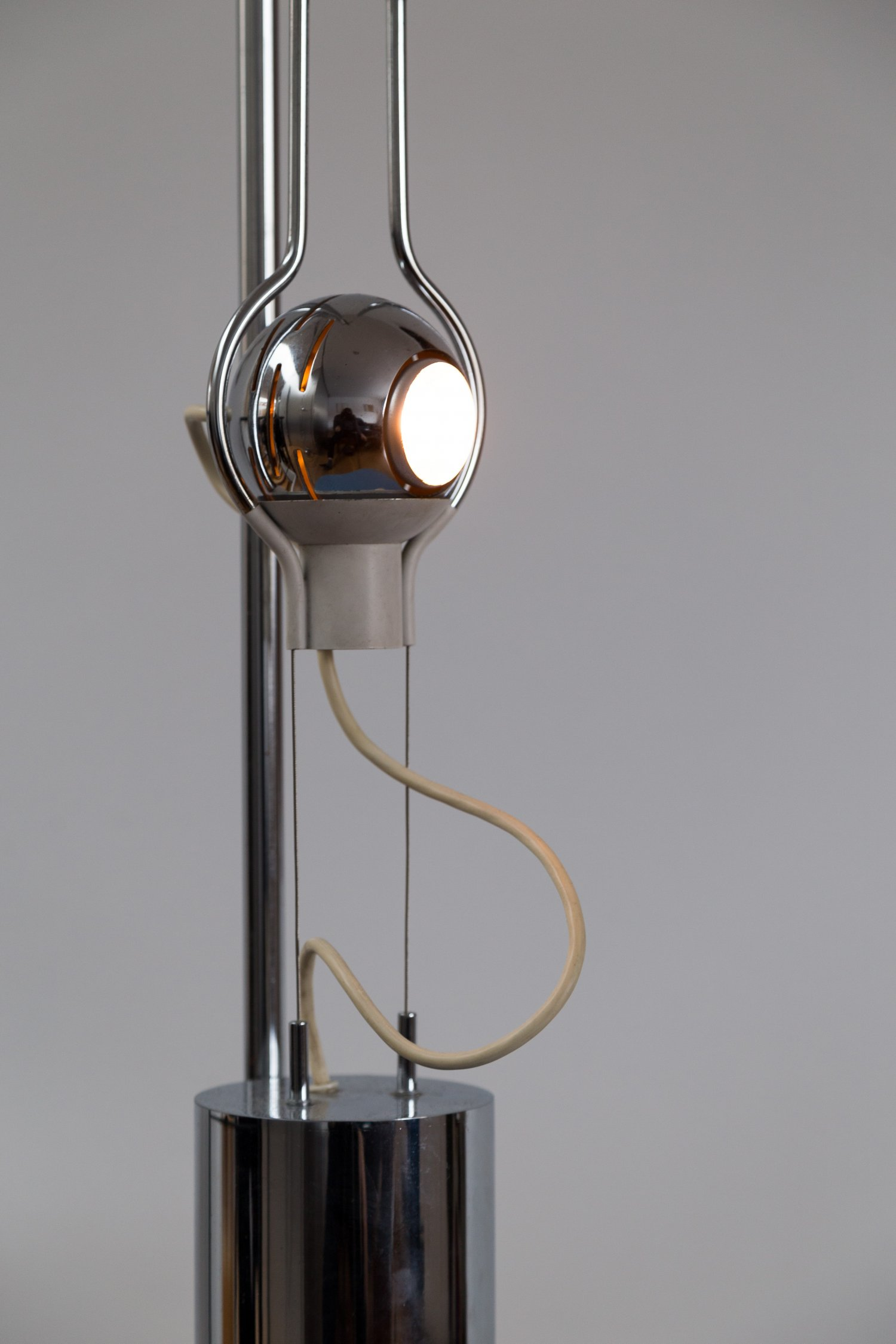 'Filo Sfera' lamp by Angelo Lelii for Arredoluce