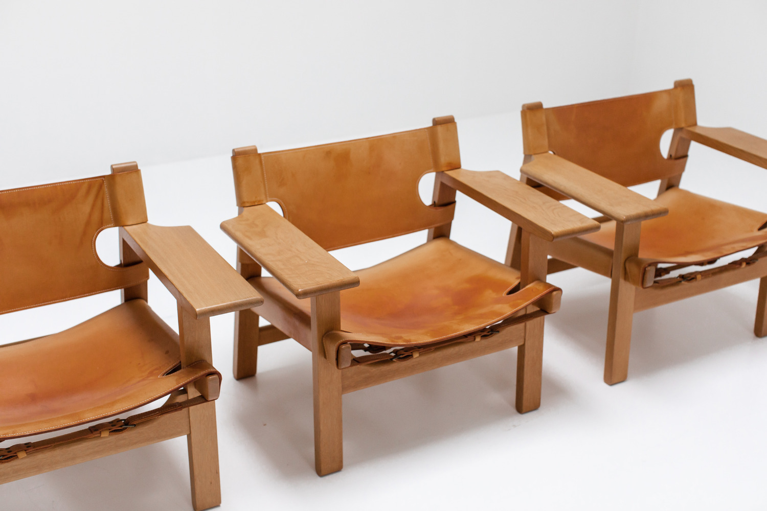 Spanish chairs by Borge Mogensen