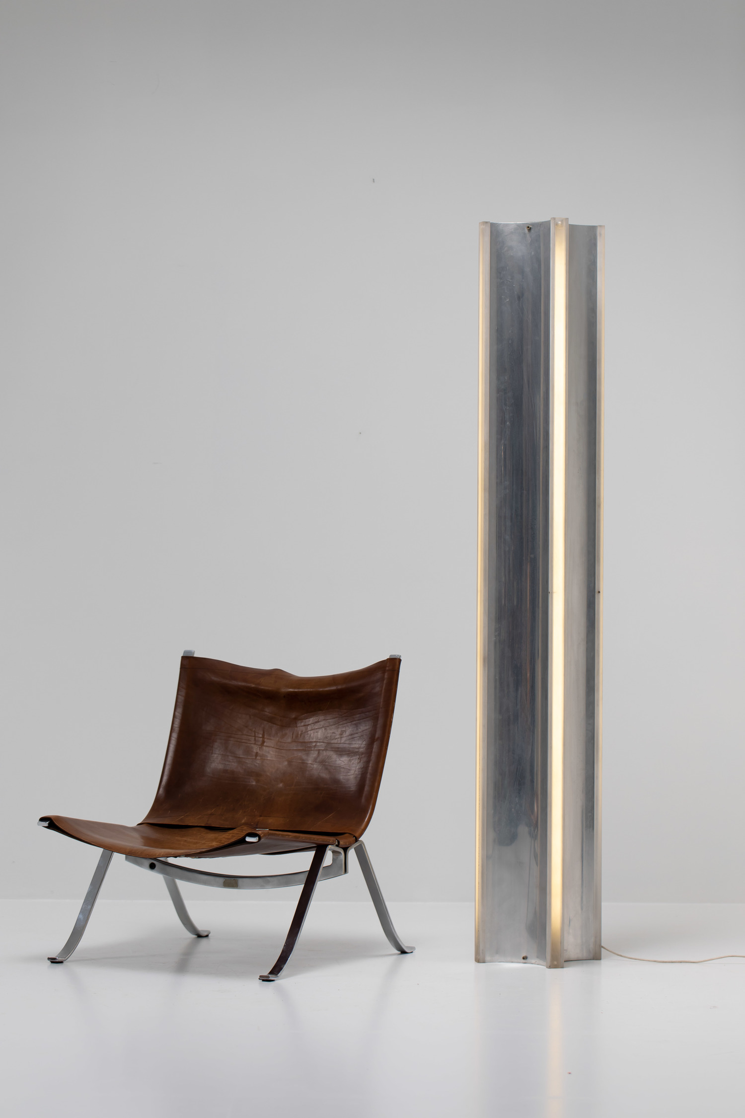 Azimuth floor lamp by Fabrizio Cocchia and Gianfranco Fini for New Lamp